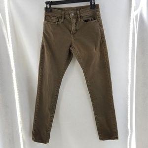 AMERICAN EAGLE AEO Brown Super Skinny Jeans 26x28